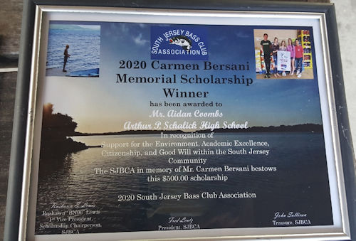 Scholarship Plaque